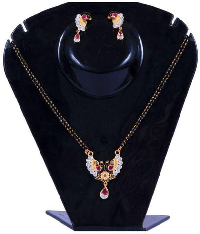 Multi Color Alloy Mangalsutra - Aangi-mangalsutra20