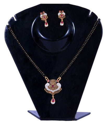 Golden Color Alloy Mangalsutra - Aangi-mangalsutra21