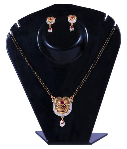 Multi Color Alloy Mangalsutra - Aangi-mangalsutra22