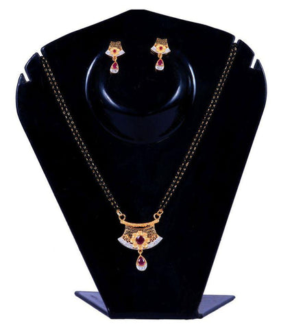 Multi Color Alloy Mangalsutra - Aangi-mangalsutra24