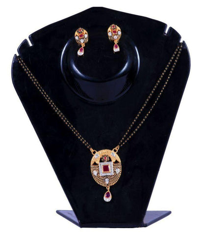 Multi Color Alloy Mangalsutra - Aangi-mangalsutra25