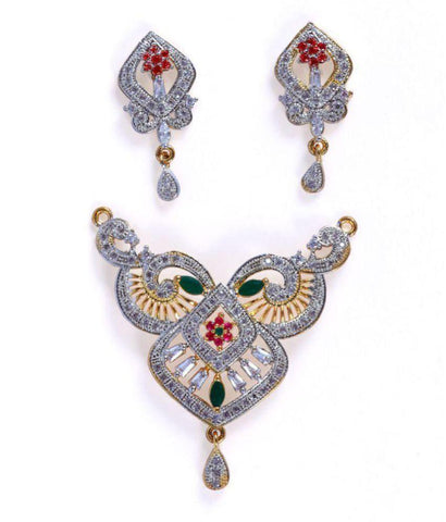 Multi Color Alloy Mangalsutra - Aangi-mangalsutra3