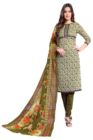 Multi Color Cotton Stitched Salwar - Apsara11-11010