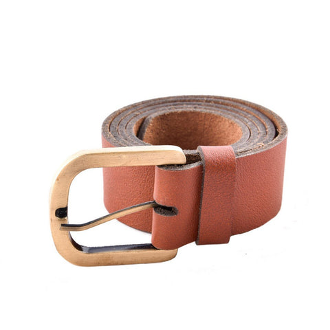 Brown Color Leather Mens Belt - B-1