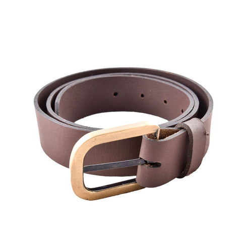 Brown Color Leather Mens Belt - B-2