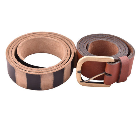 Brown Color Leather Mens Belt - B-5