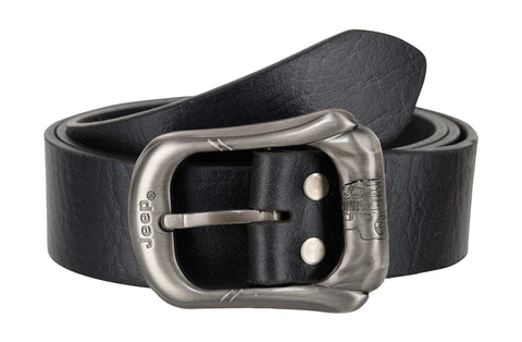 Black Color Leather Mens Belt - B275BLK