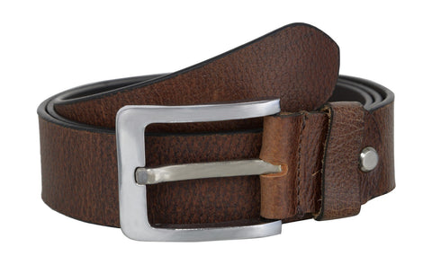 Brown Color Leather Mens Belt - B275BRN