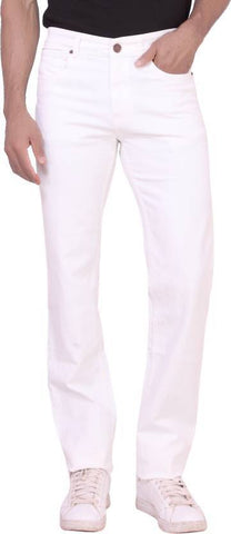 X20 Skinny Men's White Jeans - BB-121