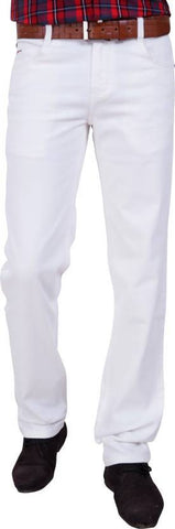X20 Skinny Men's White Jeans - BB-124