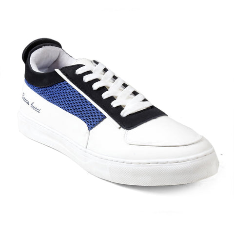 BACCA BUCCI Blue Color Synthetic Leather Mens Casual Shoe - BBMB3276B