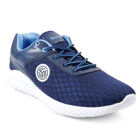 BACCA BUCCI Blue Color Textile Mens Casual Shoe - BBMG8139B