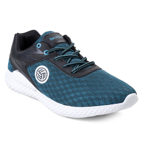 BACCA BUCCI Green Color Textile Mens Casual Shoe - BBMG8139H