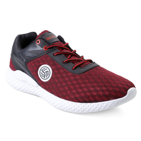 BACCA BUCCI Red Color Textile Mens Casual Shoe - BBMG8139J