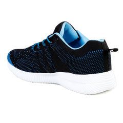 BACCA BUCCI Black Color Mesh Mens Casual Shoe - BBMG8141A