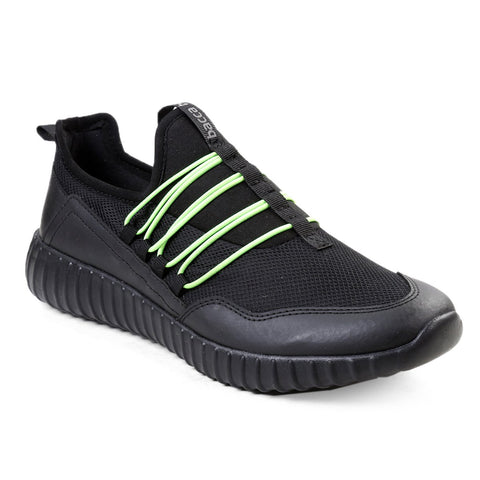 BACCA BUCCI Black Color Textile Mens Casual Shoe - BBMG8142A