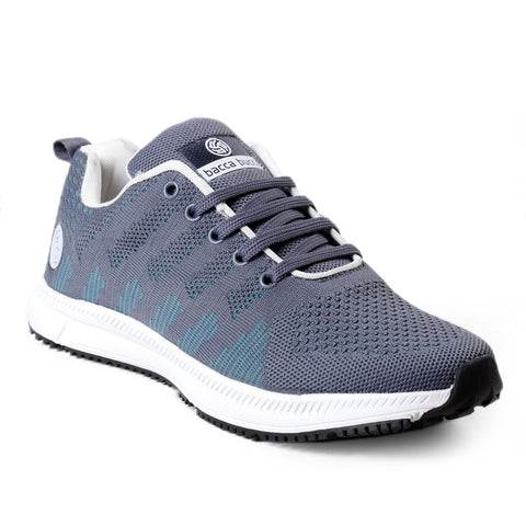 BACCA BUCCI Grey Color Textile Mens Casual Shoe - BBMG8144I