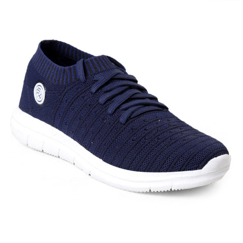 BACCA BUCCI Blue Color Textile Mens Casual Shoe - BBMG8145B