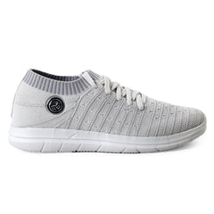 BACCA BUCCI Grey Color Textile Mens Casual Shoe - BBMG8145I
