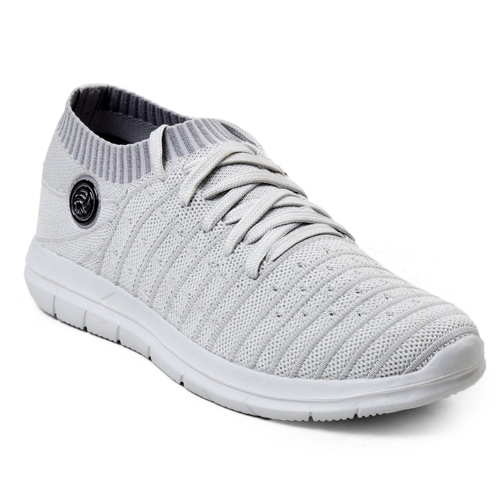 Buy  BACCA BUCCI Grey Color Textile Mens Casual Shoe