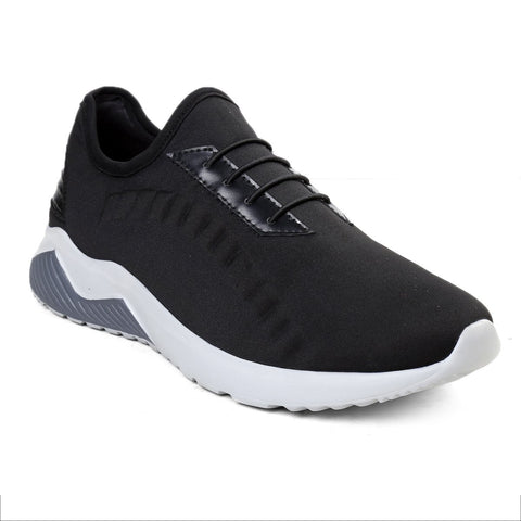 BACCA BUCCI Black Color Textile Mens Casual Shoe - BBMH9002A