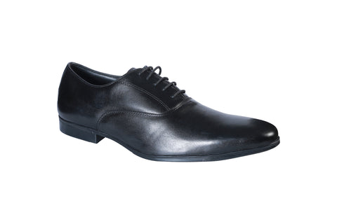 Black Color Synthetic Men's Formal Shoes - BCS1017