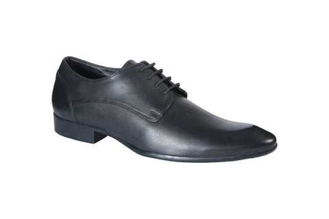 Black Color Synthetic Men's Formal Shoes - BCS1018