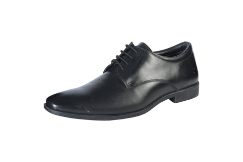 Black Color Synthetic Men's Formal Shoes - BCS1019