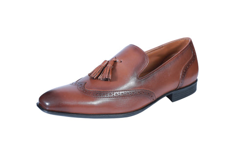 Brown Color Synthetic Men's Formal Shoes - BCS1020