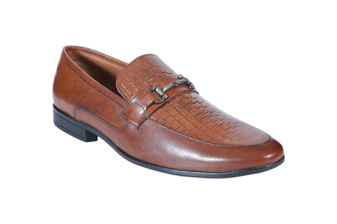 Brown Color Synthetic Men's Formal Shoes - BCS1021