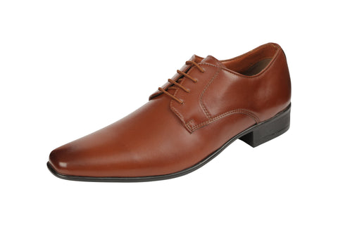 Brown Color Leather Men's Formal Shoes - BCS1023