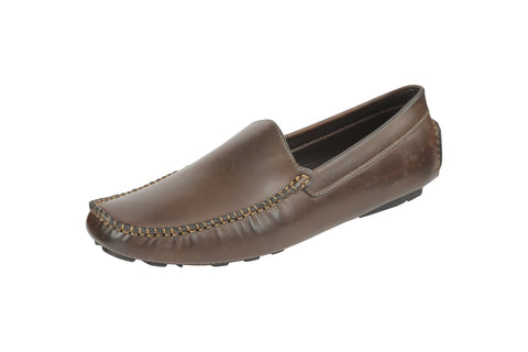 Brown Color Synthetic Men's Loafers - BCS1024