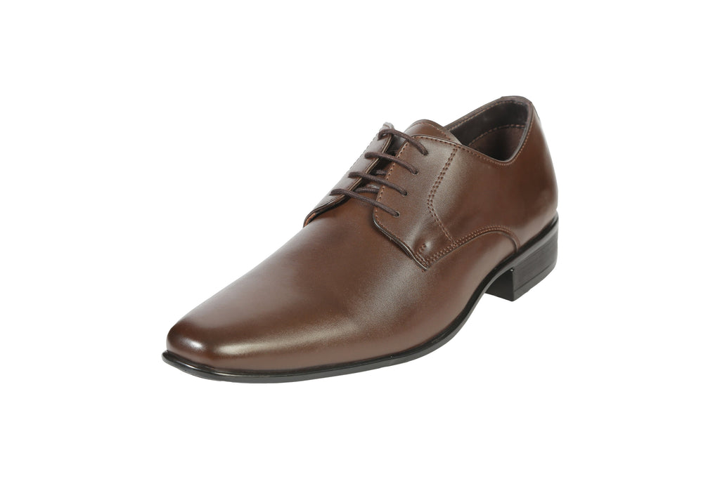 Buy Brown Color Synthetic Men's Formal Shoes