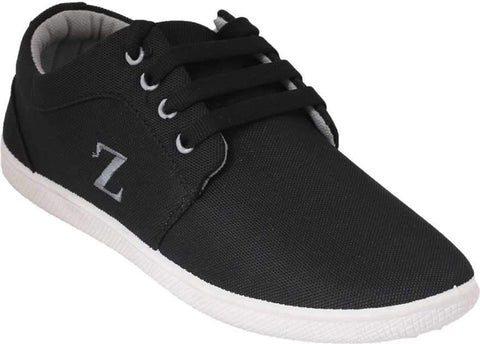 Black Color Synthetic Men Shoes - BGZ-BlackGrey
