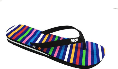 Multi Color Rubber Sandals - BHAVYA-577