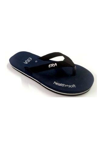 Blue Color Rubber Sandals - BHAVYA-C-9BLUE
