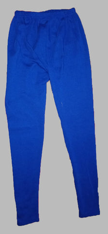 Royal Blue Color Cotton Lycra Women's Casual Legging - BKRB003