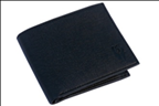 Black Color Velvet Men's Wallet - BLK-CNTNR