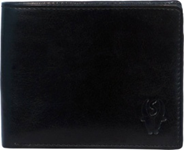 Black Color Velvet Men's Wallet - BLK-NET-CP
