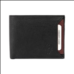 Black Color Velvet Men's Wallet - BLKBRWSLIDEMY