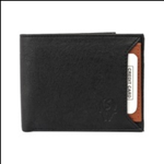 Black Color Velvet Men's Wallet - BLKTANSLIDEMY
