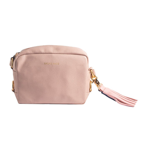 Pink Color Vegan Leather Women Sling Bag - BM-SLING-PINK