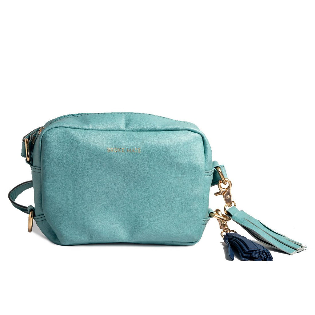 Buy Sky Color Vegan Leather Women Sling Bag