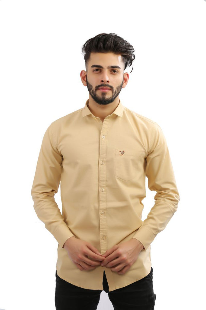 Buy Firozi Color Cotton Men Shirt