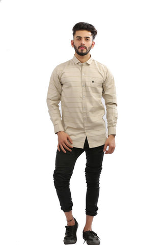Foun Color Cotton brasso Men Shirt - BM135-foun