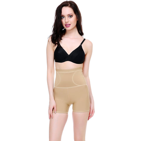 Beige Color Cotton and Lycra Tummy Shaper - BODY003