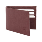 Brown Color Velvet Men's Wallet - BRW-ALB