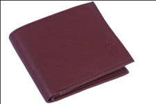 Brown Color Velvet Men's Wallet - BRW-CNTNR