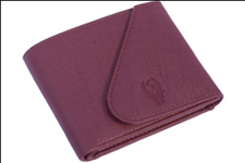 Brown Color Velvet Men's Wallet - BRW-KAN