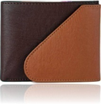 Brown Color Velvet Men's Wallet - BRW-TAN-KAN